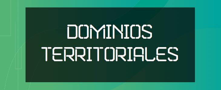 Dominios Territoriales Internet