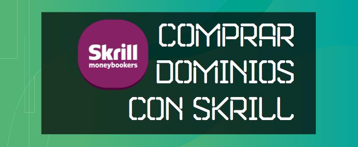 Comprar Dominios con Skrill