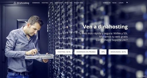 Dinahosting hosting