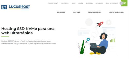 Lucushost hosting